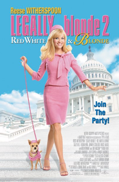 Legally Blonde 2: Red, White And Blonde Poster